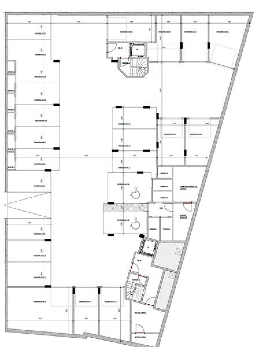 Licht en zeer ruim appartement (+/- 122,5 m²) met 3 slaapkamers en west-georiënteerde privatieve tuin met terras (95 m²)! afbeelding 8