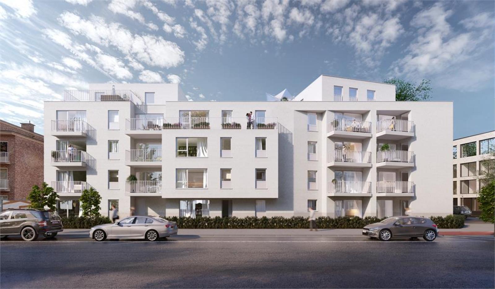Licht en zeer ruim appartement (+/- 122,5 m²) met 3 slaapkamers en west-georiënteerde privatieve tuin met terras (95 m²)! afbeelding 6