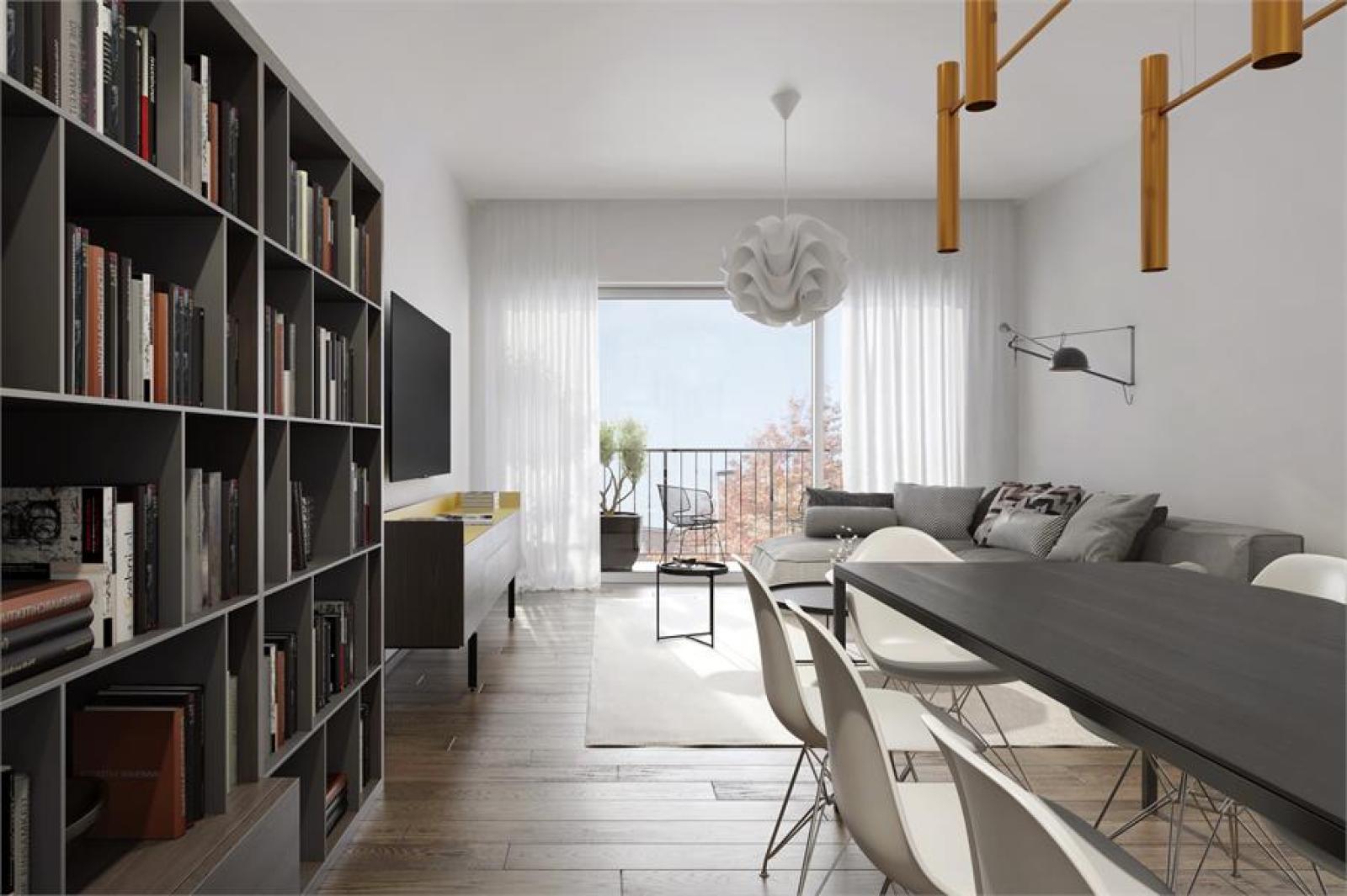 Licht en ruim appartement (+/- 102 m²) met 3 slaapkamers en terras! afbeelding 2