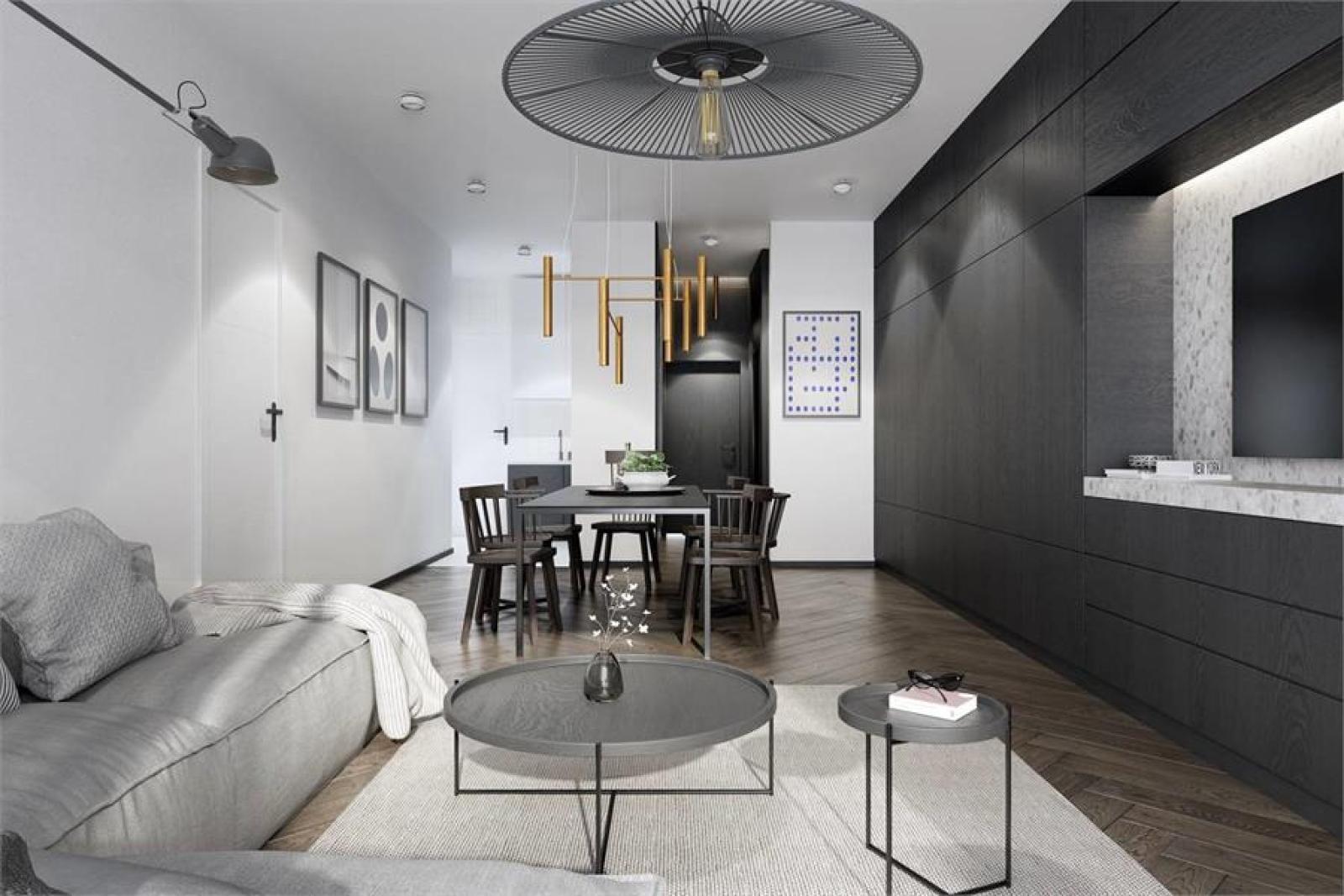 Licht en functioneel appartement (+/-98,8m²) met 3 slaapkamers, terras en zuid-georiënteerde privatieve tuin (81m²)! afbeelding 3