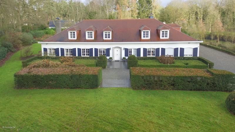 Riante Franse villa op een perceel van 5.400 m² te Schilde. afbeelding 2