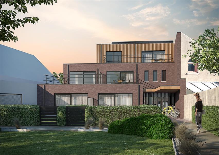 Prachtige penthouse met aangenaam ZW-terras. afbeelding 2