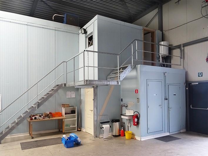 Modern magazijn + kantoor (360m²) nabij de A12 te Schelle afbeelding 2
