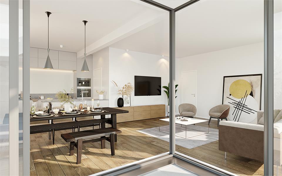 Prachtig 2-slaapkamer appartement te Zandhoven, met zicht op agrarisch gebied! afbeelding 2