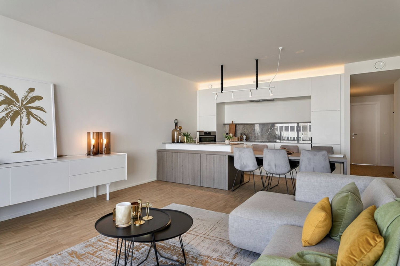 Riant nieuwbouwappartement (100 m²) op unieke ligging te Antwerpen! afbeelding 2