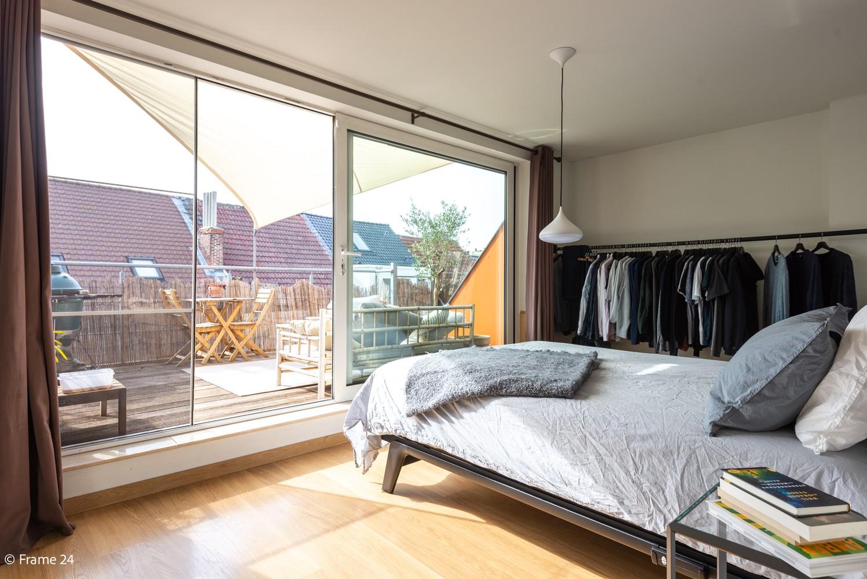 Instapklaar dakappartement met zonnig terras op goede locatie te Antwerpen! afbeelding 9