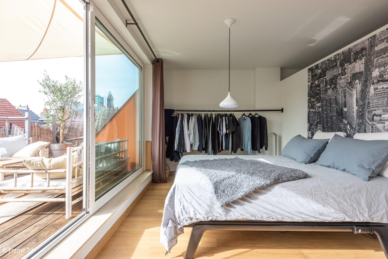 Instapklaar dakappartement met zonnig terras op goede locatie te Antwerpen! afbeelding 10