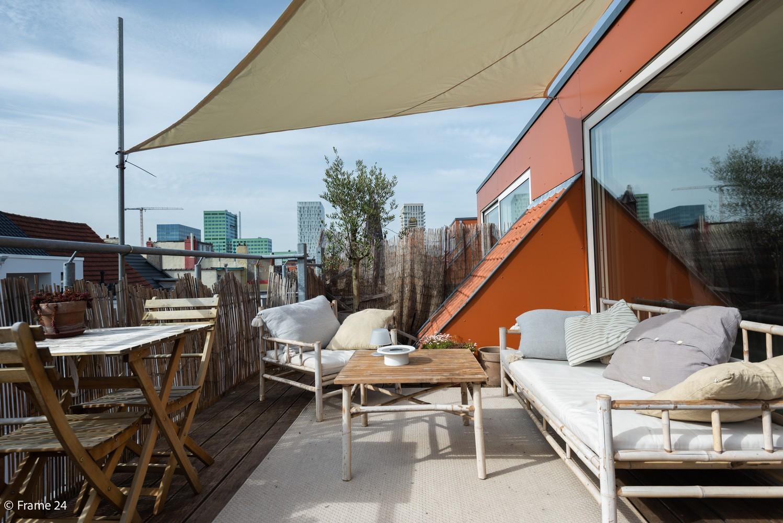 Instapklaar dakappartement met zonnig terras op goede locatie te Antwerpen! afbeelding 16