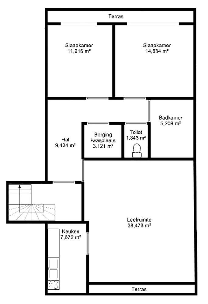 Lichtrijk totaal vernieuwd appartement op rustige locatie te Brasschaat! afbeelding 22