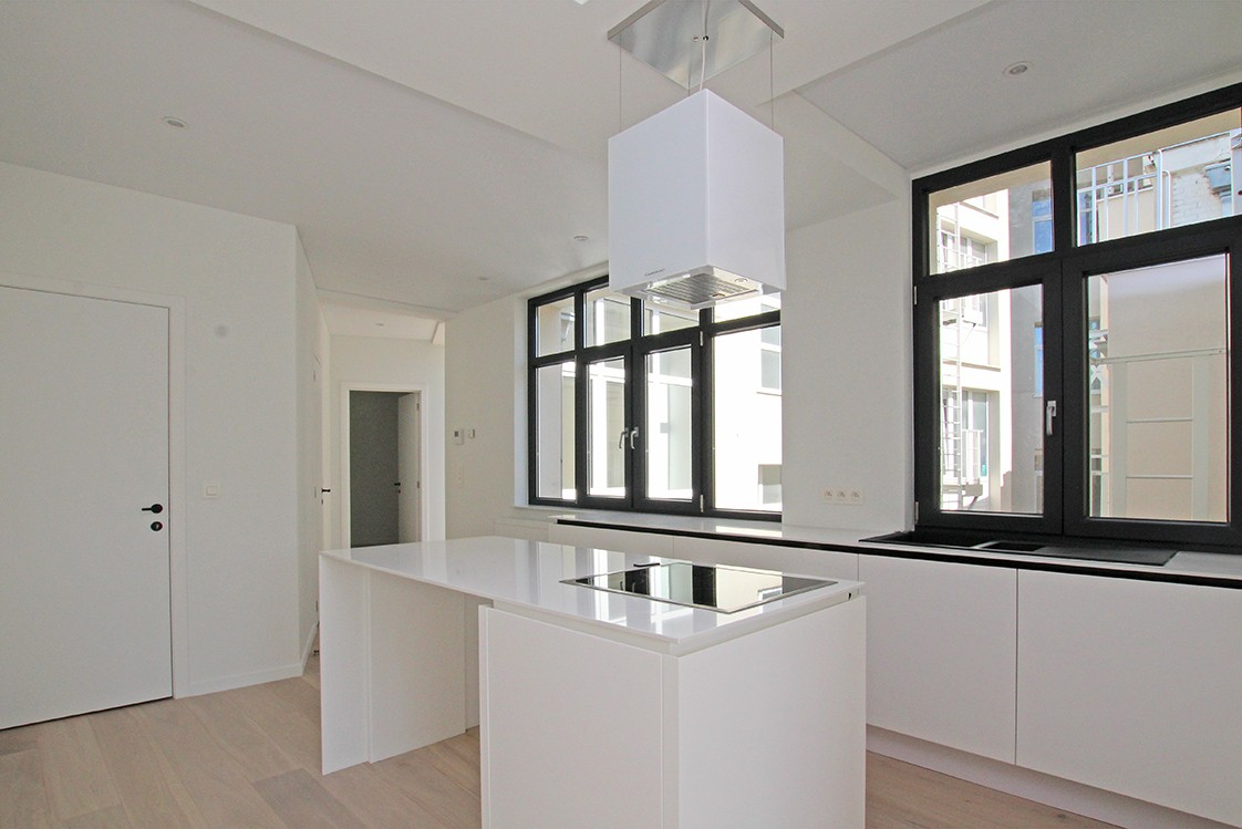 Stijlvol gerenoveerd appartement met twee slaapkamers en prachtig terras (28 m²) in het hartje van Antwerpen! afbeelding 3