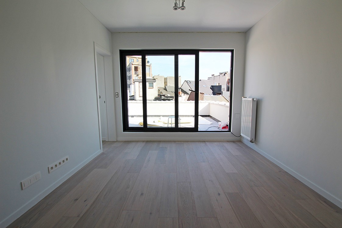 Stijlvol gerenoveerd appartement met twee slaapkamers en prachtig terras (28 m²) in het hartje van Antwerpen! afbeelding 7