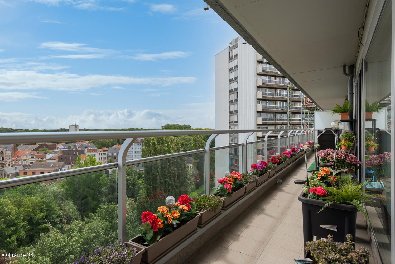 Verzorgd appartement met twee slaapkamers en ruim terras op de grens Deurne-Borgerhout. afbeelding 1