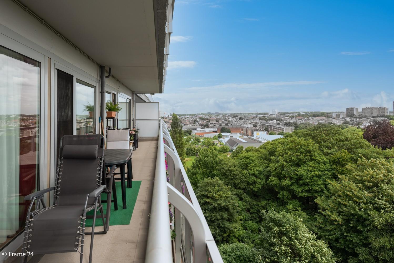 Verzorgd appartement met twee slaapkamers en ruim terras op de grens Deurne-Borgerhout. afbeelding 13