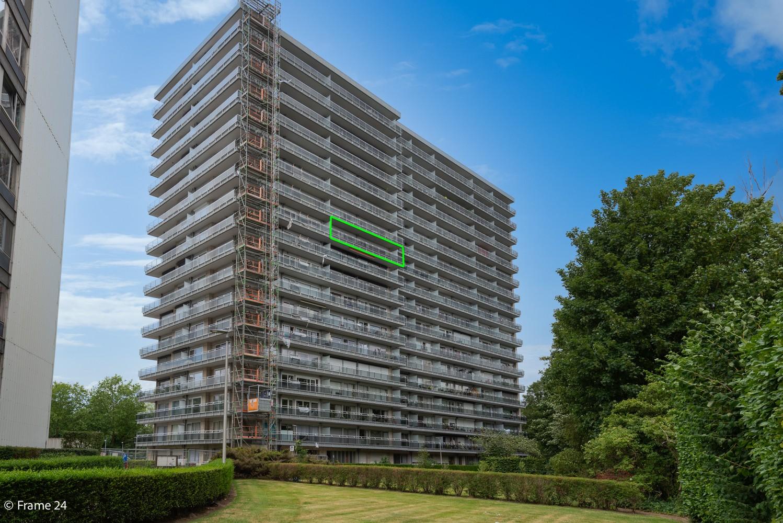 Verzorgd appartement met twee slaapkamers en ruim terras op de grens Deurne-Borgerhout. afbeelding 12