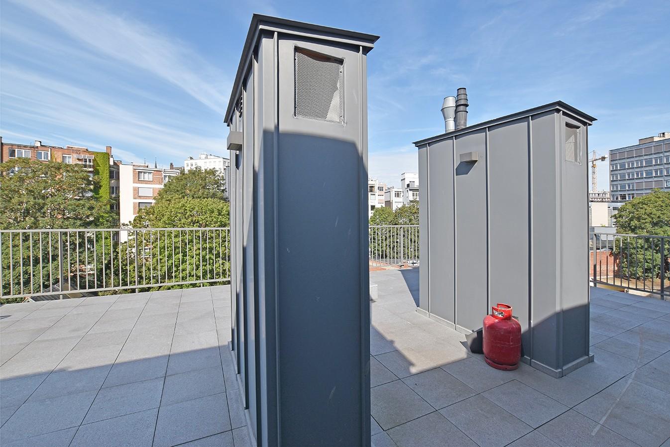 Nieuw en stijlvol duplex-appartement met luxueuze afwerking en riant dakterras (40 m²) te Antwerpen! afbeelding 14