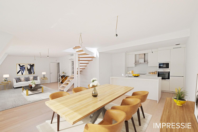 Nieuw en stijlvol duplex-appartement met luxueuze afwerking en riant dakterras (40 m²) te Antwerpen! afbeelding 4
