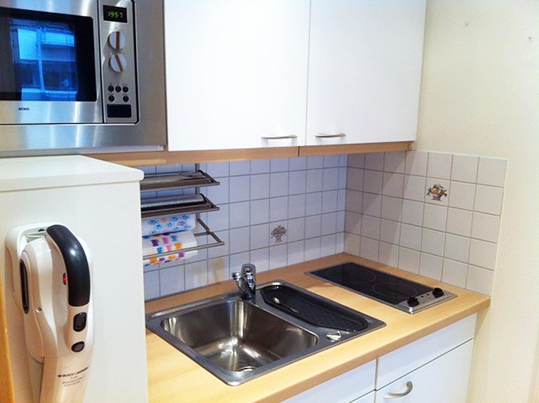 Goed onderhouden verhuurde serviceflat (58 m²) in vooraanstaande residentie te Antwerpen! afbeelding 12