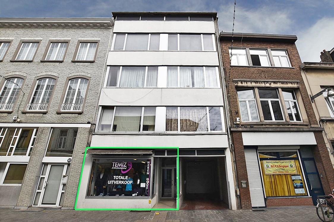 Handelsruimte (70 m²) op het gelijkvloers gelegen op een centrale locatie in Berchem! afbeelding 1