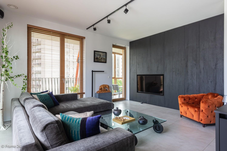 Riant luxe-appartement (160 m²) op het hippe Nieuwe Zuid te Antwerpen! afbeelding 3
