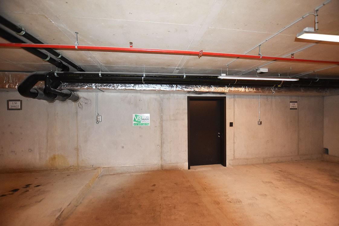 """Ondergrondse autostaanplaats te huur gelegen in project """"Kanaal' te Wijnegem afbeelding 1"""