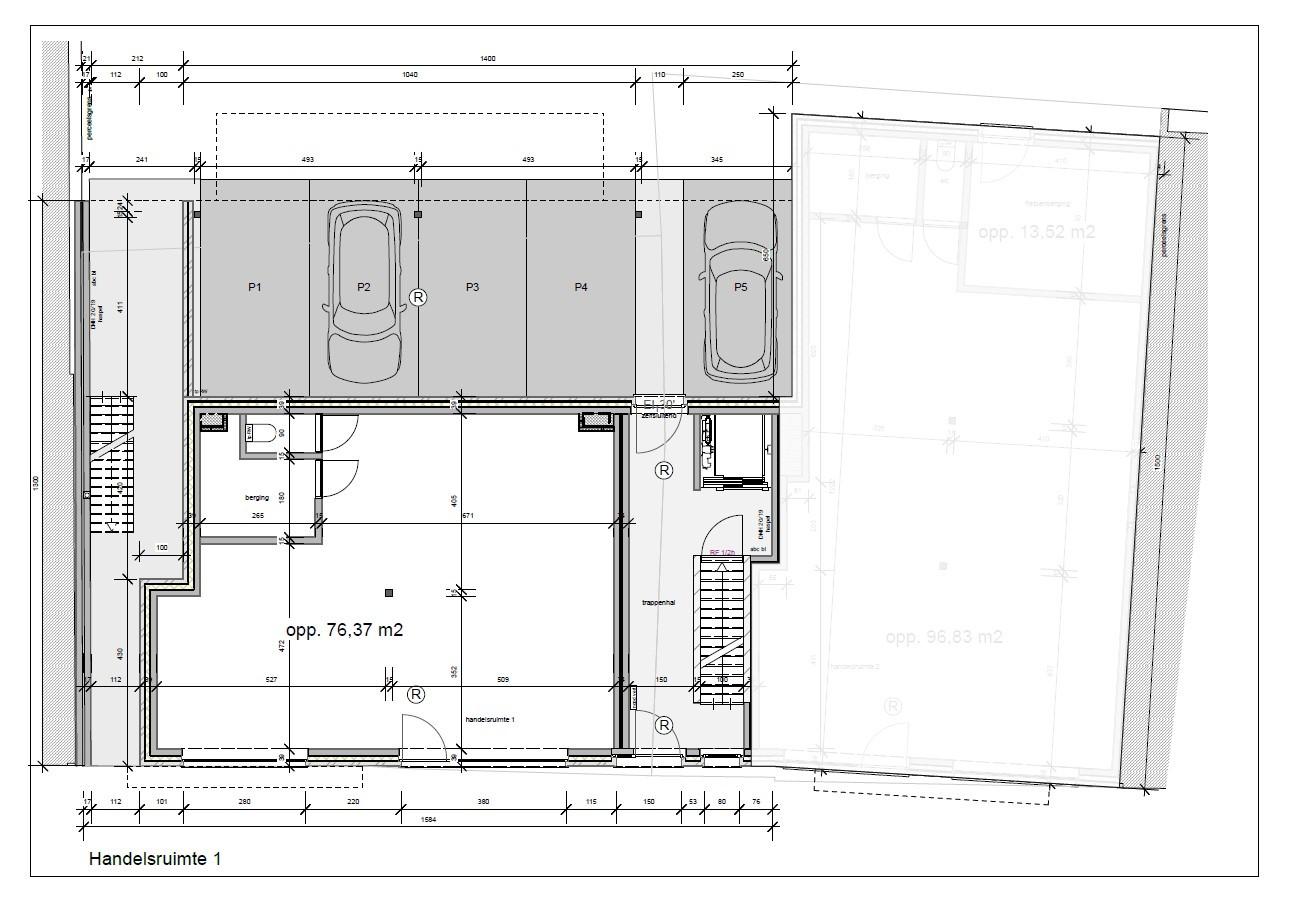 Nieuwbouw handelsgelijkvloers op toplocatie in Broechem! afbeelding 3