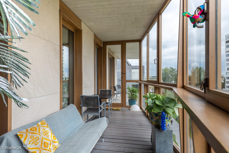 Riant luxe-appartement (160 m²) op het hippe Nieuwe Zuid te Antwerpen! afbeelding 15