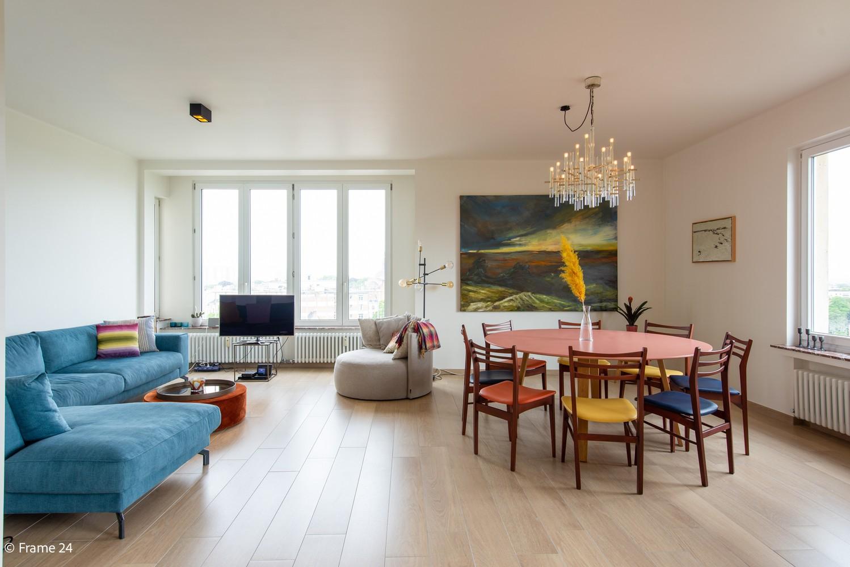 Riant luxeappartement (160 m²) met 3 slks aan het Koning Albertpark te Antwerpen! afbeelding 3