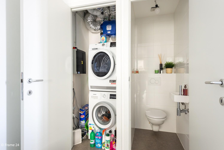 Recent appartement (valt onder registratie!) met twee slaapkamers & ondergrondse staanplaats te Hoboken! afbeelding 6