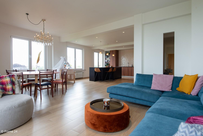 Riant luxeappartement (160 m²) met 3 slks aan het Koning Albertpark te Antwerpen! afbeelding 4