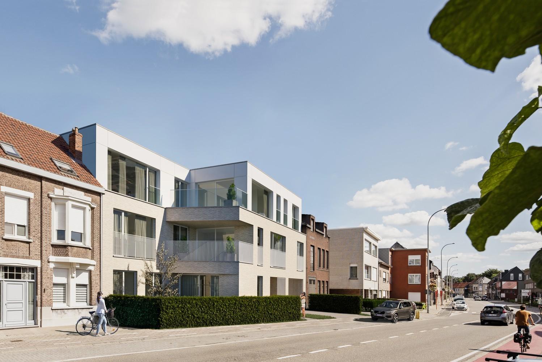 Zeer praktisch gelijkvloers 1 slaapkamerappartement (84 m²) met aangelegd terras (22 m²) en privatieve tuin (106 m²) welke grenst aan natuurgebied! afbeelding 2