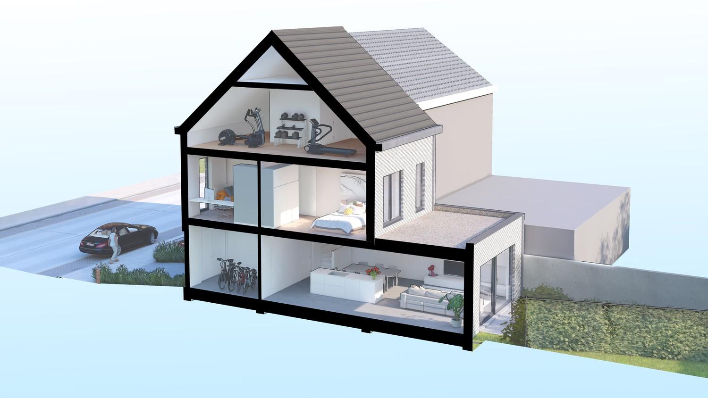 Volledig nieuwe, kwalitatieve woning met 3 slaapkamers in Schoten afbeelding 2