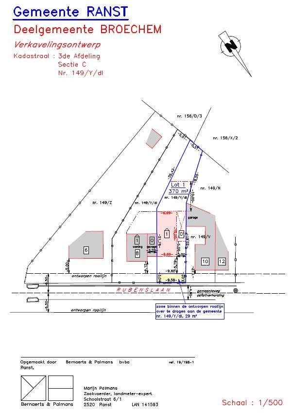 Bouwgrond (370m²) voor HOB gelegen op TOPlocatie in Broechem afbeelding 4