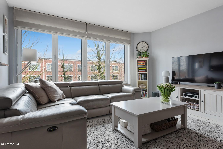 Mooi, lichtrijk appartement (85m²) met 2 slaapkamers & terras in Deurne! afbeelding 5