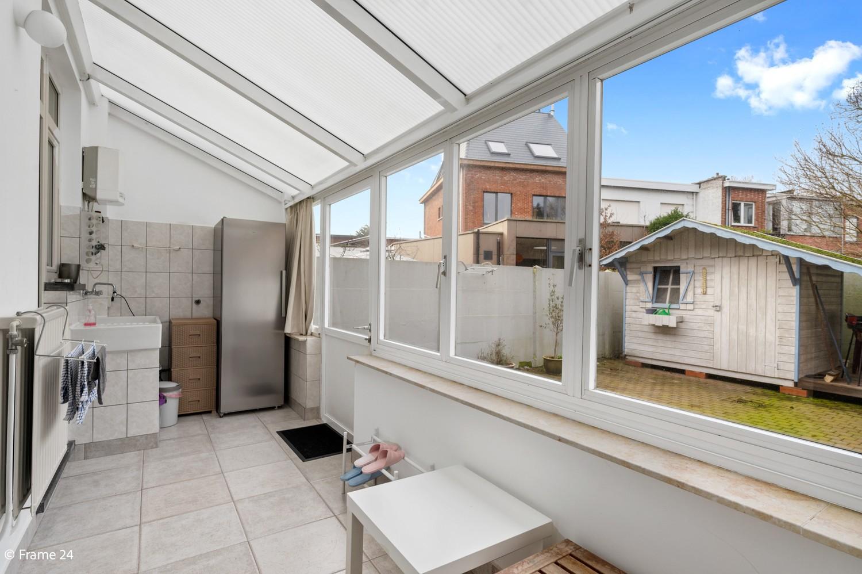 Verzorgde ééngezinswoning met twee slaapkamers en tuin te Berchem! afbeelding 10