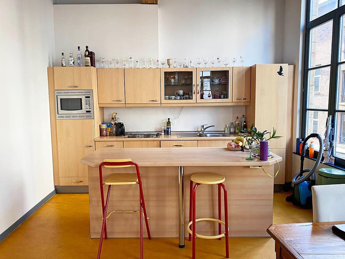 Verrassend ruim appartement met 1 slaapkamer in hartje Antwerpen! afbeelding 5