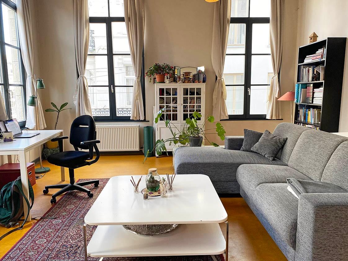 Verrassend ruim appartement met 1 slaapkamer in hartje Antwerpen! afbeelding 2