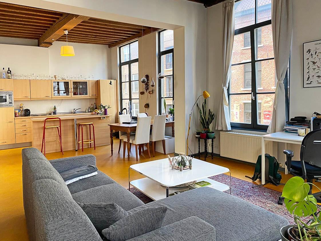Verrassend ruim appartement met 1 slaapkamer in hartje Antwerpen! afbeelding 3
