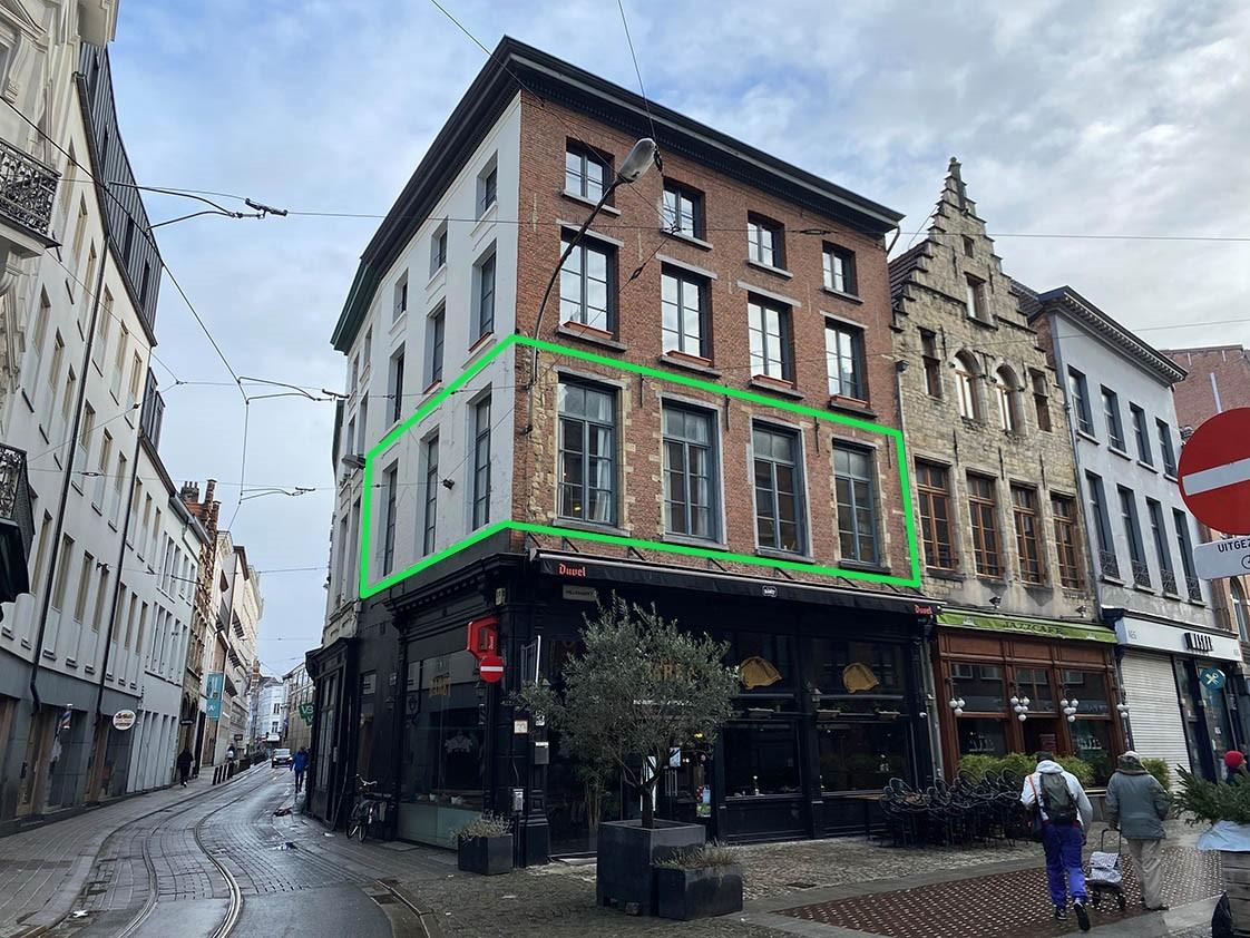 Verrassend ruim appartement met 1 slaapkamer in hartje Antwerpen! afbeelding 14