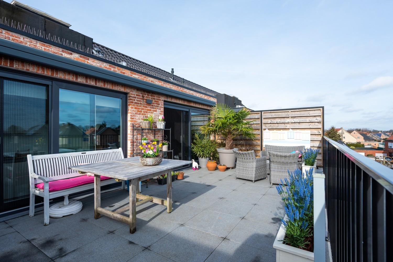 Prachtig, ruim dakappartement met groot, zonnig terras in Broechem afbeelding 1