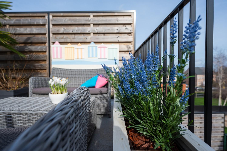 Prachtig, ruim dakappartement met groot, zonnig terras in Broechem afbeelding 13