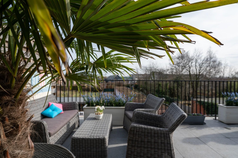 Prachtig, ruim dakappartement met groot, zonnig terras in Broechem afbeelding 14