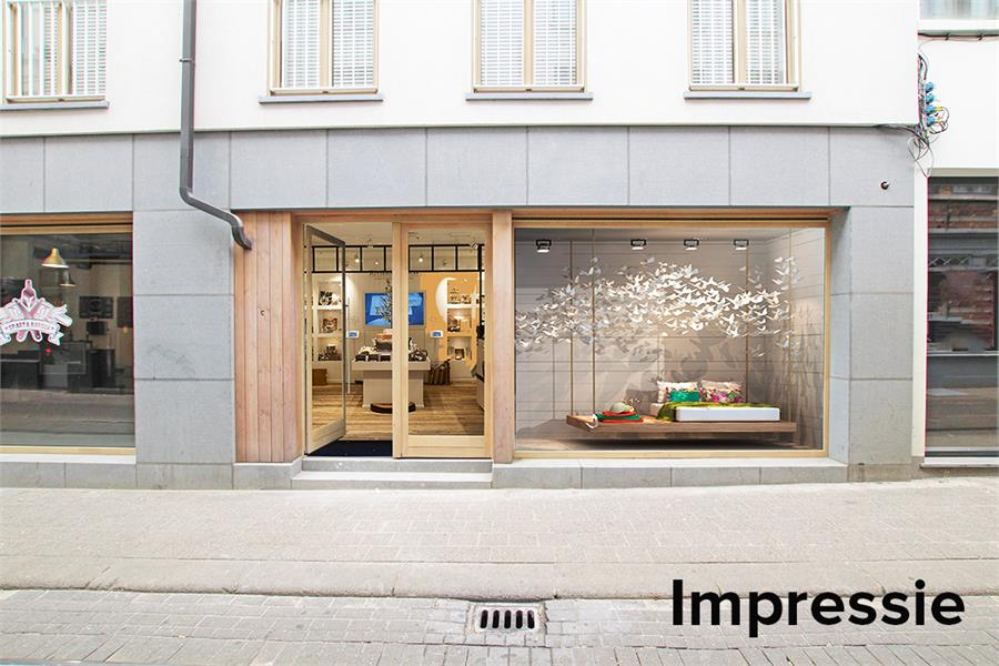 Handelsgelijkvloers op absolute TOPlocatie in het commerciële hart van Antwerpen! afbeelding 1