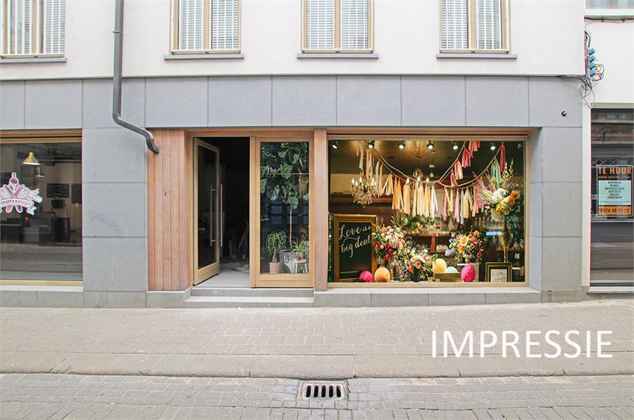 Handelsgelijkvloers op absolute TOPlocatie in het commerciële hart van Antwerpen! afbeelding 9