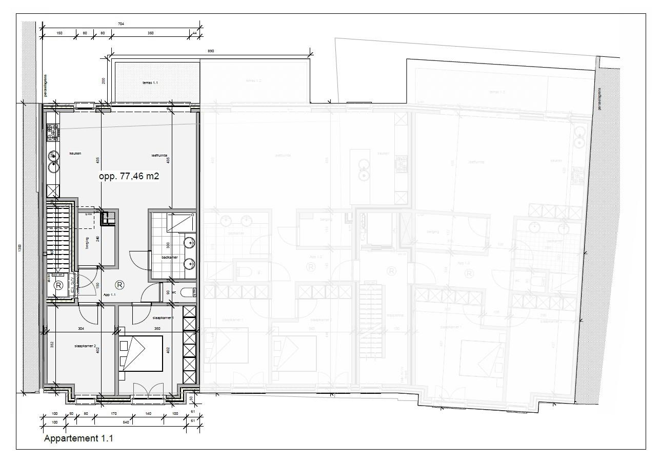 Nieuwbouw appartement in het centrum van Broechem! afbeelding 3