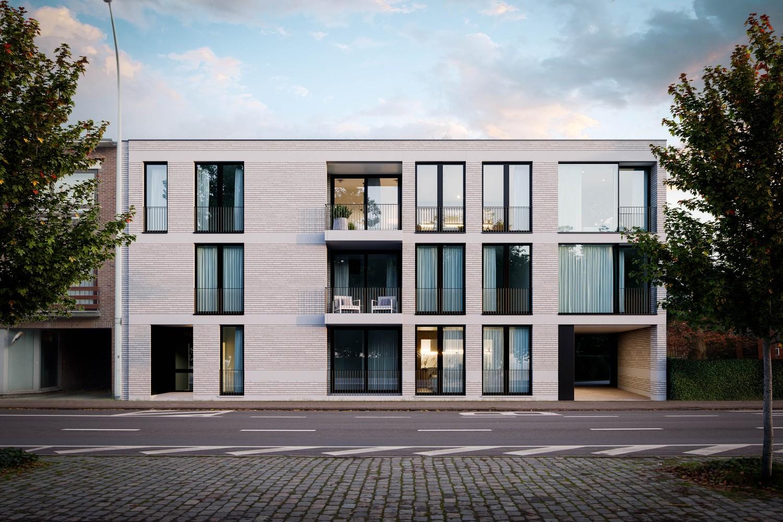 Zeer praktisch gelijkvloers twee slaapkamer appartement (88,3m²) met aangelegd terras (5,2m²)! afbeelding 2