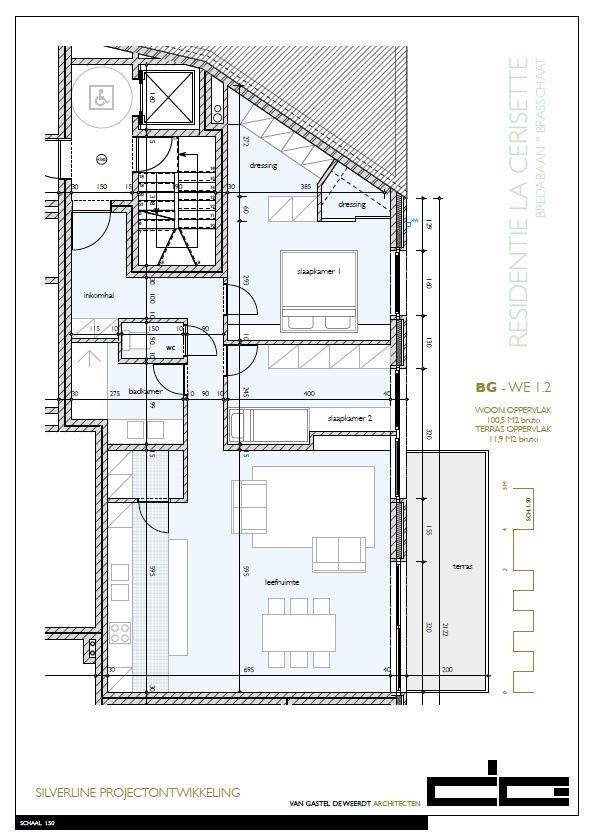 Zeer praktisch twee slaapkamer appartement gelegen op de eerste verdieping (100,5m²) met aangelegd terras (11,9m²)! afbeelding 7