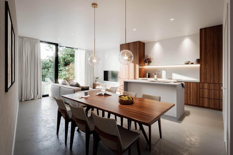 Zeer praktisch drie slaapkamer appartement gelegen op de tweede verdieping (102,4m²) met aangelegd terras (6,7m²)! afbeelding 8