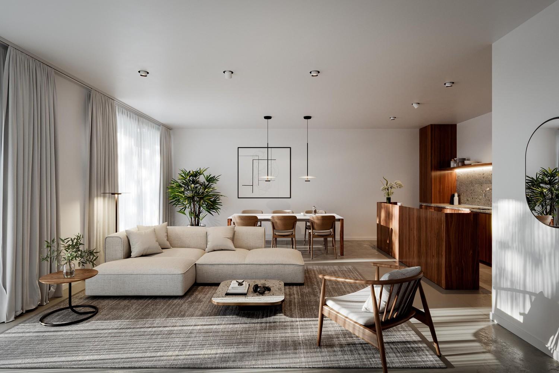 Zeer praktisch drie slaapkamer appartement gelegen op de tweede verdieping (102,4m²) met aangelegd terras (6,7m²)! afbeelding 9