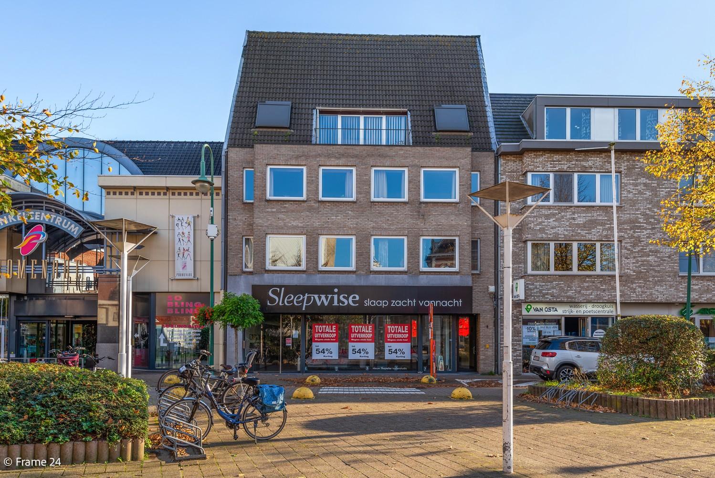 Ruime handelsgelijkvloers (340m²) op zeer gunstige locatie naast het winkelcentrum in Kapellen! afbeelding 1