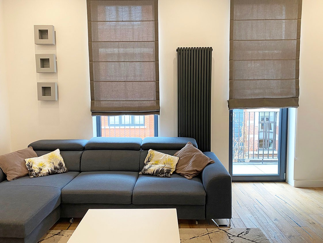 Volledig bemeubeld appartement met 2 slaapkamers & terras in het bruisende Antwerpen! afbeelding 5